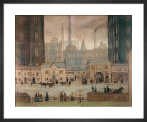 Coming From The Mill, c.1917-18 by L S Lowry