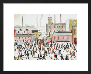 Going To Work, 1959 by L S Lowry