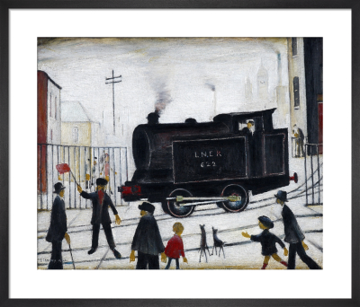 Level Crossing, 1946 by L S Lowry