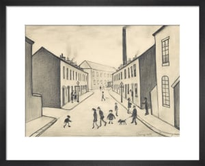 North James Henry Street, Salford, 1956 by L S Lowry