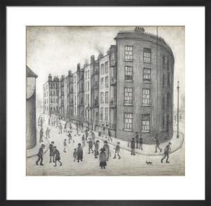 Oldfield Road Dwellings, 1929 by L S Lowry