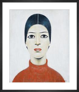 Portrait Of Ann, 1957 by L S Lowry
