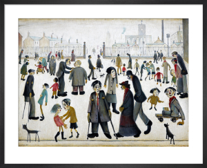 The Cripples, 1949 by L S Lowry