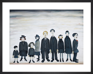 The Funeral Party, 1953 by L S Lowry