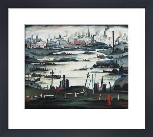 The Lake, 1937 by L S Lowry