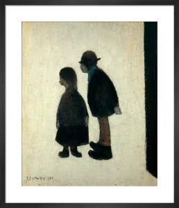 Two People, 1962 by L S Lowry