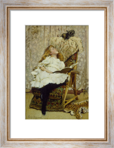 A Rival Attraction by Charles Burton Barber