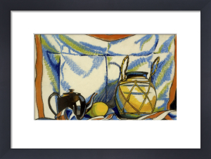 Still Life with Teapot by Henri Gaudier-Brzeska