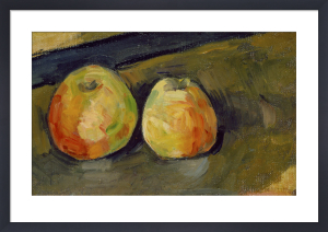 Deux Pommes, c.1883-87 by Paul Cezanne