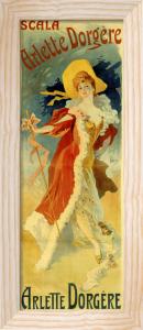 Arlette Dorgere, c.1890 by Jules Cheret