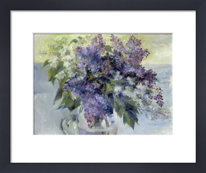 Stilleben mit Blumen by Lovis Corinth