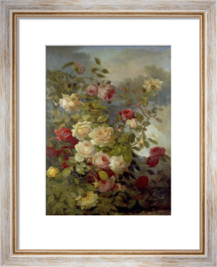 Roses beside a River by Alexandre Drebus