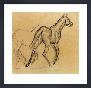 Chevaux, c.1882 by Edgar Degas