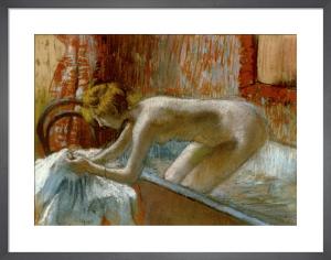Femme Sortant du Bain, c.1886-88 by Edgar Degas