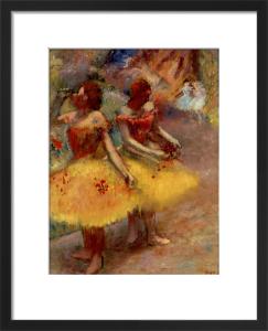 Deux Danseuses by Edgar Degas