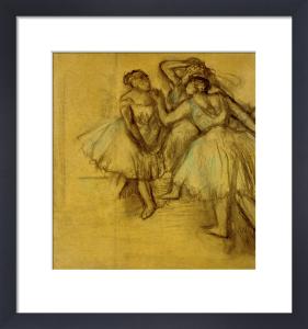 Etude des Trois Danseuses by Edgar Degas