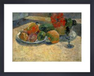 Fruits Exotiques et Fleurs Rouges by Paul Gauguin