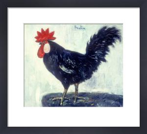 A Cockerel by Leslie Hunter