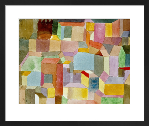 Mittelalterliche Stadt, 1915 by Paul Klee