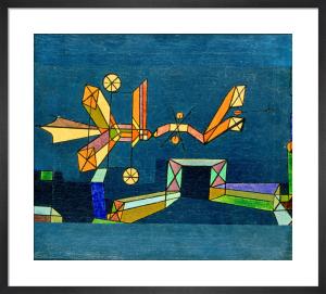 Ankunft der Luftdrache, 1927 by Paul Klee