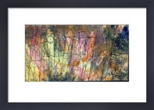 Das Schloss by Paul Klee