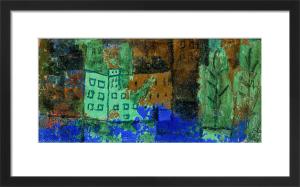 Haus im Wasser. 1930 by Paul Klee
