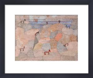 Landschaft Mit Eseln, 1932 by Paul Klee