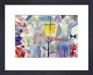 Unvollendete Landschaft, 1918 by Paul Klee