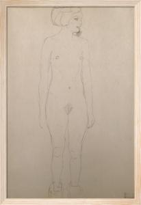 Standing Nude, 1911 by Gustav Klimt