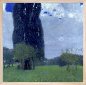 The Tall Poplar Tree 1, 1900 by Gustav Klimt
