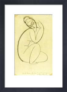 Cariatide, c.1911-12 by Amedeo Modigliani