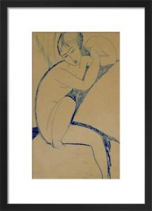 Cariatide by Amedeo Modigliani