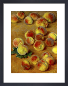 Peaches by Claude Monet