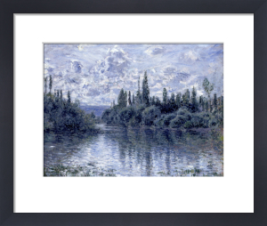 Bras de la Seine pres de Vetheuil by Claude Monet