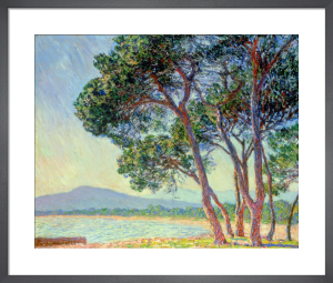 La Plage de Juans-les-Pins by Claude Monet