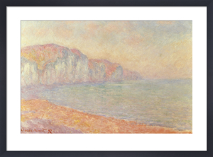 Falaises de Pourville, Le Matin by Claude Monet