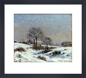 Paysage Sous la Neige, Upper Norwood by Camille Pissarro