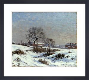 Paysage Sous la Neige, Upper Norwood by Camille Pissarro
