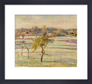 Gelee Blanche a Eragny, 1895 by Camille Pissarro