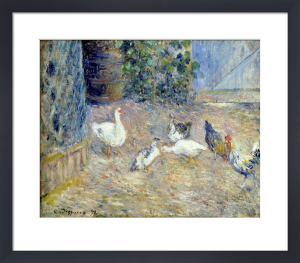 Poulailler, Pontoise by Camille Pissarro