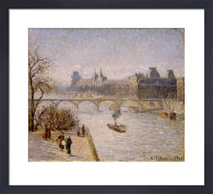 Le Louvre by Camille Pissarro