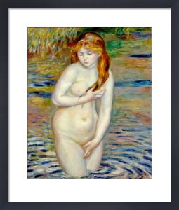 Jeune Femme se Baignant, 1888 by Pierre Auguste Renoir