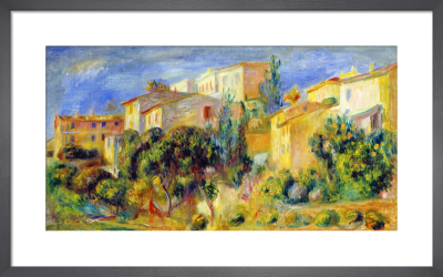Cagnes, 1905 by Pierre Auguste Renoir