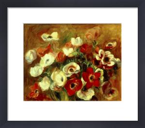 Gerbe d'Anemones by Pierre Auguste Renoir