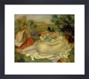 Deux Baigneuses by Pierre Auguste Renoir