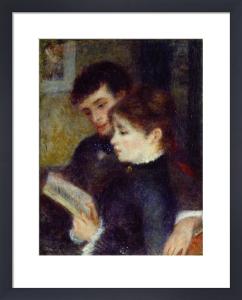 Couple Lisant by Pierre Auguste Renoir