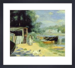 La Grenouillere, c.1869-70 by Pierre Auguste Renoir