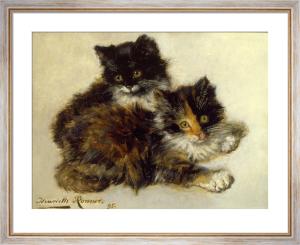 Kittens by Henriette Ronner-Knip