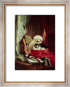 An Intermezzo by Henriette Ronner-Knip
