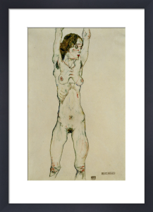Green Girl, 1913 by Egon Schiele